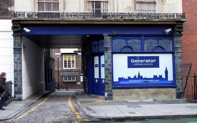Anglia - Generator Hostel London